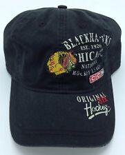 NHL Chicago Blackhawks CCM Vintage Established 1926 Adult Adjustable Fit  Cap NEW 4d7edfc73