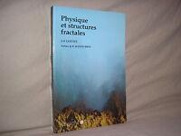 Physique et structures fractales par Gouyet chez Masson