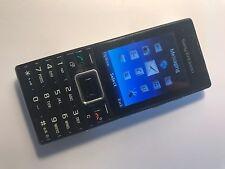 Sony Ericsson Elm J10i2-metallo nero (arancione) Rete Telefono Cellulare