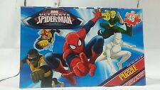 New 48 Piece Marvel Ultimate SpiderMan Puzzle with small box carrier gift box