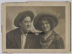"""1908 Metropolitan Opera Soprano Mabel Garrison """"Flower of Ranch"""" Mounted Photo"""