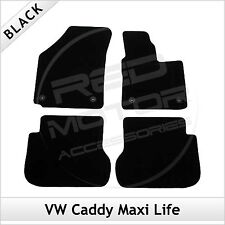 VW Volkswagen Caddy Maxi Life 2008 2009 onwards Tailored Fitted Carpet Car Mats