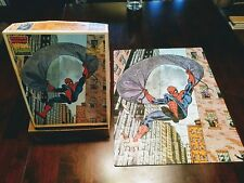 Vintage 1988 THE AMAZING SPIDER-MAN 100 Piece Puzzle by Rainbow Works