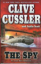 Clive Cussler signed The Spy 1st. Ed. 2010 VG+/NF
