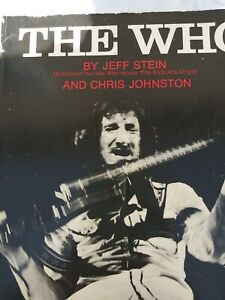 THE WHO By Jeff Stein Book 1979 Edition