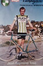CYCLISME repro PHOTO cycliste JEAN RAYMOND TOSO équipe PUCH SEM signée