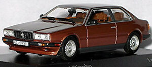 Maserati Biturbo 1981-82 Maroon 80 Metallic Copper 1:43 Minichamps
