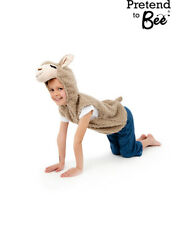 GIRLS BOYS KIDS CHILD LLAMA ANIMAL BOOK DAY FANCY DRESS COSTUME OUTFIT AGE 3-7