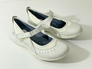 Clarks Wave Mary Jane Style Shoes Hook/Loop Fastening Size 8/42 (Box 2)