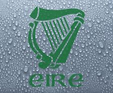 Irish harp #1 vinyl decal sticker (sml) - Ireland Eire Erin Celtic - DEC1065