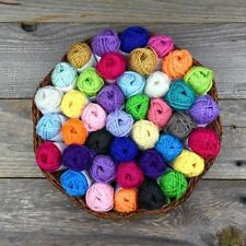 20 Acrylic Yarn Skeins Assorted Colors Huge Lot Mixed 100% Acrylic Wool Balls