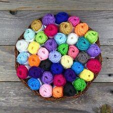 20 Acrylic Yarn Skeins Assorted Colors Huge Lot Mixed 100% Acrylic Wool Balls