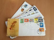 Singapore: 15 x commemorative first day covers. Mixed condition. See pics below.