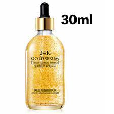 24K Or Collagène Essences Serum Huile Anti-âge Rides Liquide Visage Faciale Peau