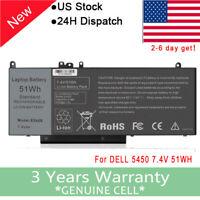 "New Battery for Dell Latitude E5450 E5550 E5250 Notebook Laptop 15.6"" G5M10 51wh"