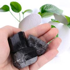 1pcs Black Tourmaline Natural Healing Energy Crystal Rough Rock Raw Stone 5-7cm