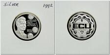 Netherlands - 5 ECU 1992 PROOF Willem I - .925 Ag, 7 gram - mintage 1500