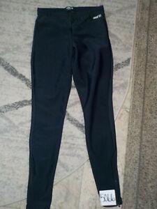( Medium ) Pearl Izumi AmFib Tight Black Lined Cycling Pants Ankle Zippers #4063