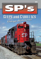 SPs Geeps and Cadillacs DVD Pentrex GP9 SD7 SD9 Southern Pacific Fresno Line NEW