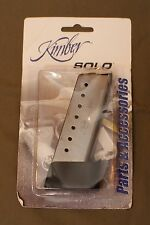 Kimber Solo Factory Mag NEW 8RDS each with factory extension (Set of 2)