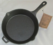 """OLD MOUNTAIN CAST IRON PRE-SEASONED 10 1/2 INCH  SKILLET W/ASSIST HANDLE 10.5"""""""