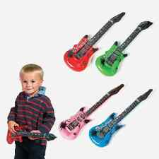 Small Inflatable Guitars 4 Piece Rock Star Party Favor