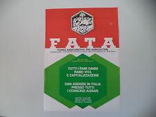 advertising Pubblicità 1985 FATA ASSICURAZIONI