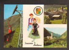 VALLS ANDORRA (ANDORRE) TELECABINE , MASSANA... en 1968