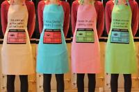 Adults Cooking Apron - Polka Dot Oven & Slogan - 4 to Choose From