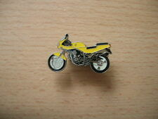 Pin Motorrad MuZ Skorpion 660 gelb yellow Motorrad Art. 0382 Motorbike Moto