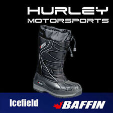 "BAFFIN ""ICEFIELD"" Womens/Ladies Snowmobile Boot - Black - Size 11"