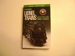 2021 Edition Greenberg's Lionel Trains Pocket Price Guide 1901-2021