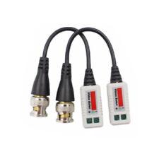 Video Balun BNC to UTP Terminal Adaptor Cat-5/6, Passive UK Stock