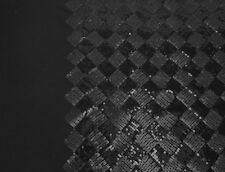 Two Tone Black Checkered Design Sequins Fabric by the Yard