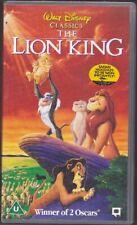 The Lion King   - VHS Video - Walt Disney Classics