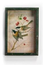 "Ragon House Collection Framed Chickadee 9"" x 13"" Window Box Shadow Box  Picture"