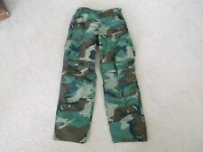 US  ARMY WOODLAND BDU PANTS HOT WEATHER  SIZE 26 x 29.5""