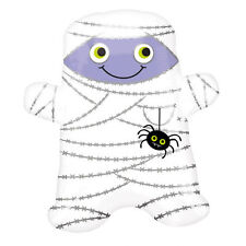 Halloween smiling MUMMY & Spider Childs Halloween Balloon Party Decoration