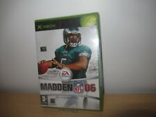 Madden NFL 06 (Microsoft Xbox, 2005) new sealed pal version