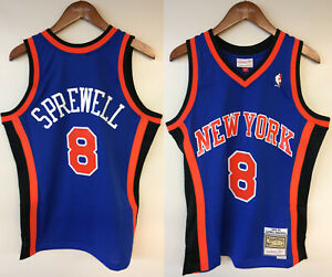 Latrell Sprewell New York Knicks Mitchell & Ness NBA 1998-1999 Authentic Jersey