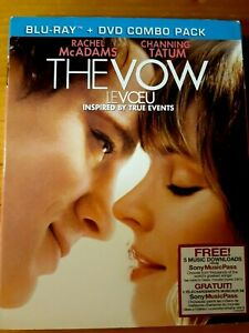 The Vow (Blu-ray/DVD, 2012, Canadian Bilingual 2012)