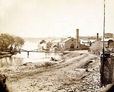 Photo Tredegar Iron Works Richmond, VA Main Artillery Source Confederacy 1865