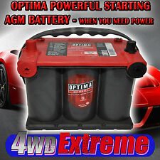 OPTIMA RED TOP BATTERY 12 VOLT NEW AGM 75/25 720CCA CAMARO CHEV SS DRAG CAR