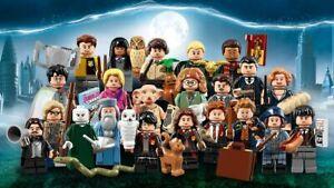 HARRY POTTER  Minifigures LEGO Harry Potter Silente Draco Dobby Ron Hermione