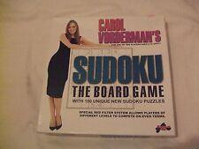 Carol Vorderman's Sudoku The  Board Game.