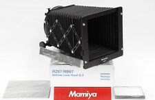 Mamiya rz67/rb67 Compendium g3 --- g-3 Bellows lenshood Neuf/New