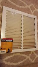 "NEW Accord 12x12 Return Air Grill White Heavy Gauge Steel ABRGWH1212 12""x12"" !!!"