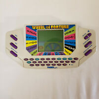 WHEEL OF FORTUNE HANDHELD GAME & CARTRIDGE TIGER Electronics 1995 Tested & Works