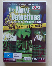 The New Detectives - Case Studies In Forensic Science : Season 1-2 (4 DVD set)