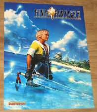 Final Fantasy X & Sheep  Dog 'n' Wolf  PS 2001 very rare  Poster 42x55cm